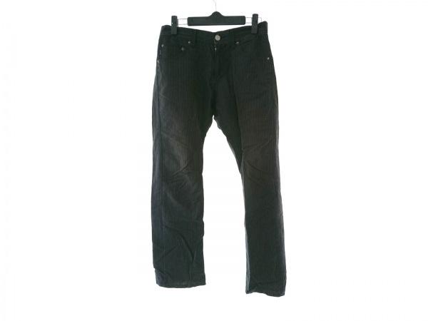 PaulSmithJEANS(ポールスミスジーンズ) パンツ サイズS レディース 黒×白 ストライプ