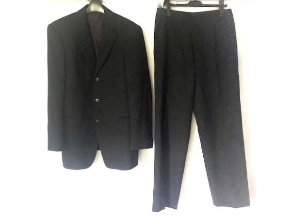 TETE HOMME(テットオム) シングルスーツ サイズL メンズ 黒 3点セット