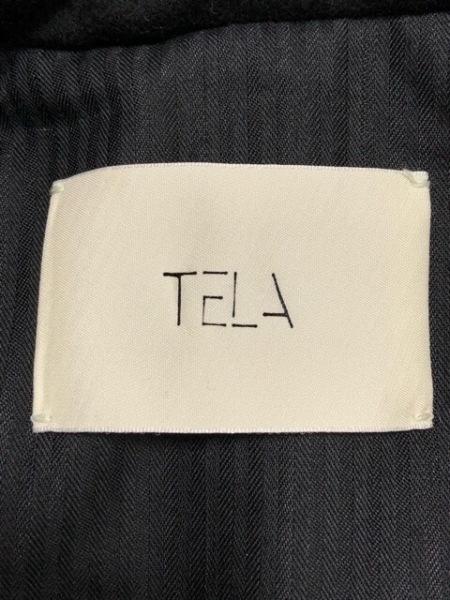 TELA(テラ) レディースパンツスーツ レディース グレー×黒