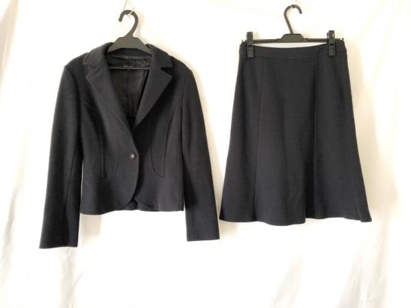 セブンアイディーコンセプト スカートスーツ サイズ38 M レディース美品  黒