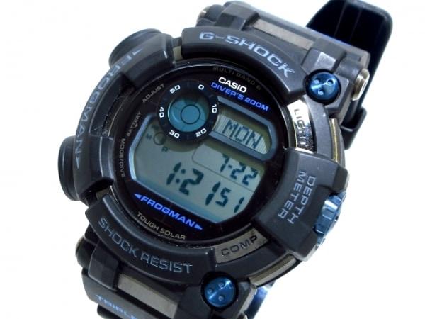 CASIO(カシオ) 腕時計美品  フロッグマン GWF-D1000B/GWF-D1000B-1JF メンズ SS