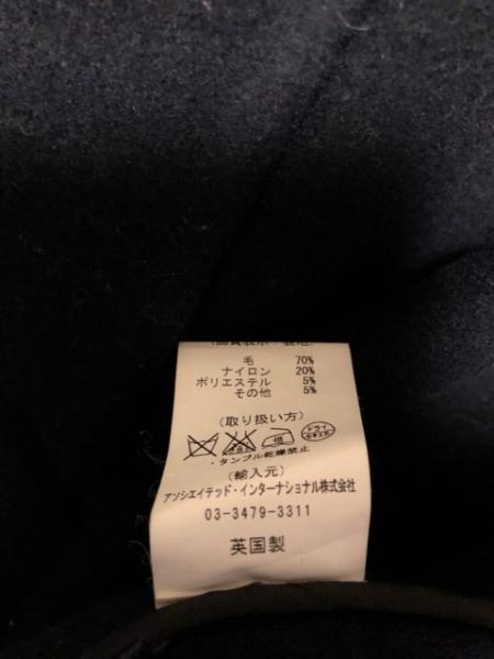 gloverall(グローバーオール) ダッフルコート レディース 黒×ダークグリーン