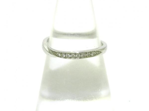 俄 NIWAKA(ニワカ) リング美品  Pt950×ダイヤモンド 8Pダイヤ