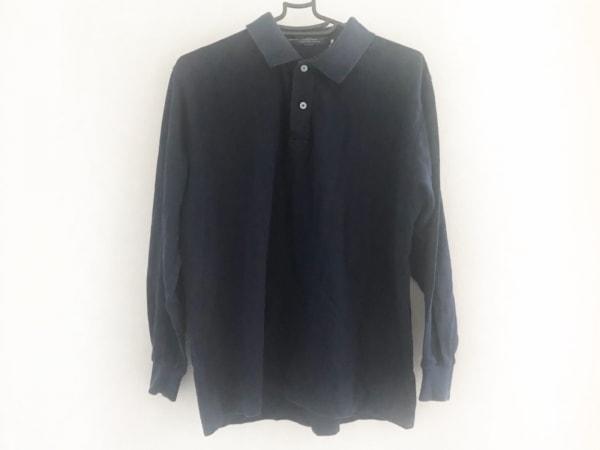 フレッドペリー 長袖ポロシャツ サイズL メンズ ネイビー 1