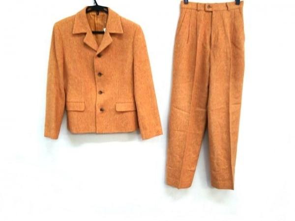 J.PRESS(ジェイプレス) シングルスーツ メンズ オレンジ×マルチ