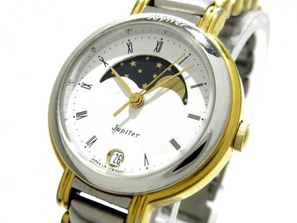ORIENT(オリエント) 腕時計 J08204-00 レディース 白×ネイビー