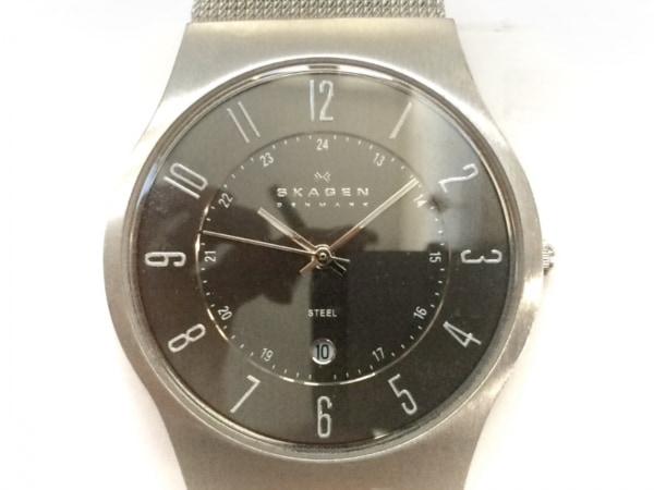 SKAGEN(スカーゲン) 腕時計 233XLSSM メンズ 黒