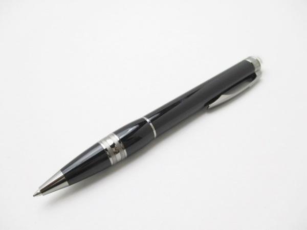 モンブラン ボールペン美品  スターウォーカー 黒×シルバー インクあり(黒)