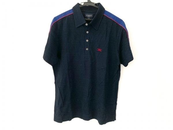 BURBERRYGOLF(バーバリーゴルフ) 半袖ポロシャツ サイズL メンズ美品