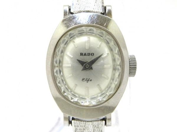 RADO(ラドー) 腕時計 - レディース アンティーク/K14WG シルバー