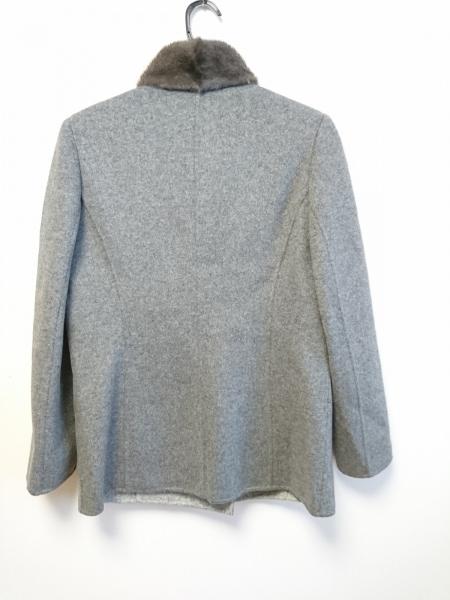lapine blanche(ラピーヌブランシュ) コート サイズ9 M レディース美品  グレー 冬物