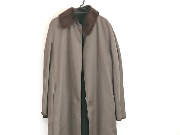 FENDI(フェンディ) コート サイズ42 M レディース美品  ダークブラウン 冬物
