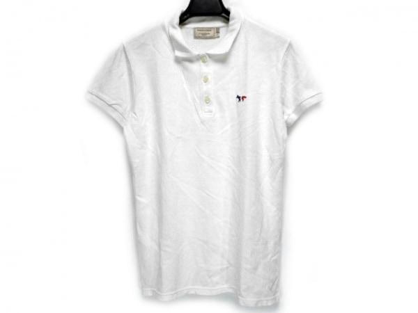 MAISON KITSUNE(メゾンキツネ) 半袖ポロシャツ サイズS レディース アイボリー