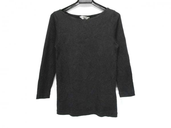 AURALEE(オーラリー) 長袖Tシャツ サイズ1 S レディース 黒 FOR IENA