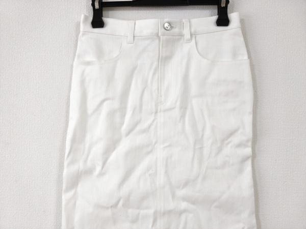 Lisiere(リジェール) ロングスカート サイズ34 S レディース美品  白