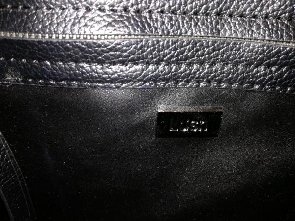 LUSH(ラッシュ) トートバッグ 黒 レザー