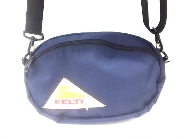 KELTY(ケルティ) ショルダーバッグ ネイビー ストラップ取外し可 ナイロン
