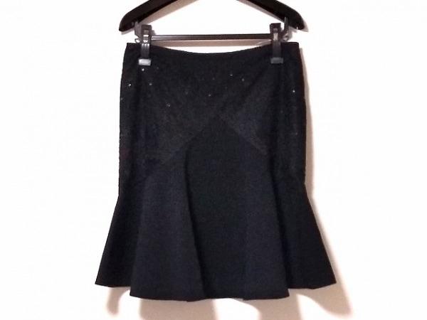 BLUGiRL BLUMARINE(ブルーガールブルマリン) スカート サイズ44(I) L レディース 黒