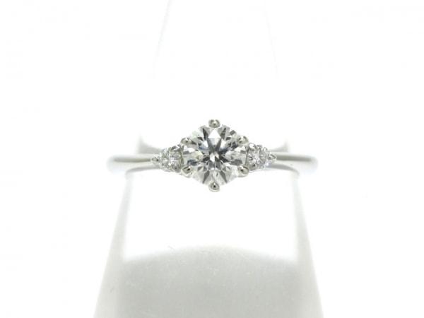 EXELCO(エクセルコ) リング美品  Pt900×ダイヤモンド ダイヤ0.367・0.051ct