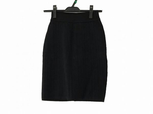 ALAIA(アライア) スカート サイズXS レディース美品  黒×ネイビー