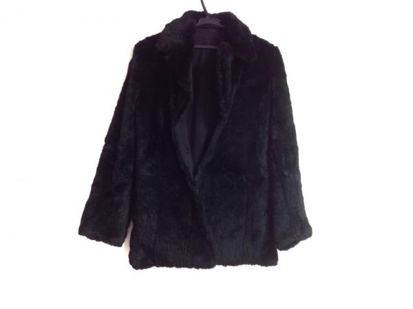 FRAGILE(フラジール) コート サイズ38 M レディース 黒 リバーシブル/冬物