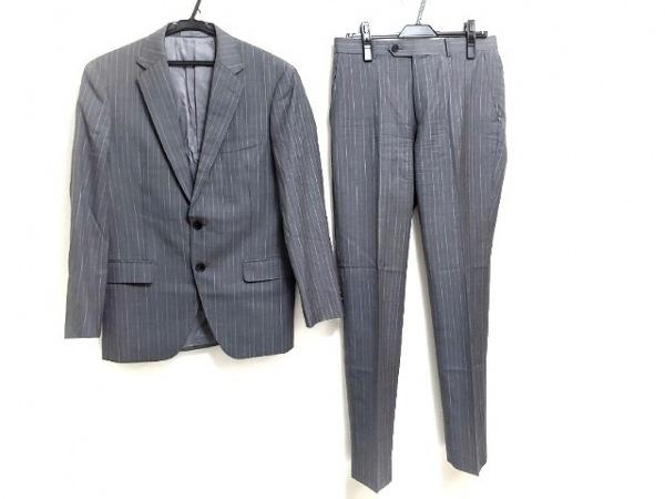 MEN'S TENORAS(メンズティノラス) シングルスーツ メンズ美品  グレー×ライトグレー