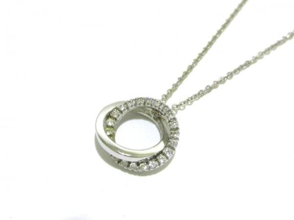 VENDOME(ヴァンドーム青山) ネックレス美品  K18WG×ダイヤモンド