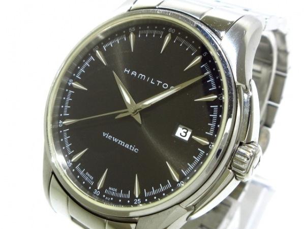HAMILTON(ハミルトン) 腕時計 ジャズマスタービューマチック H326650 メンズ 黒