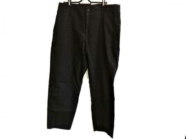 yohjiyamamoto(ヨウジヤマモト) パンツ サイズ2 M メンズ 黒 POUR HOMME
