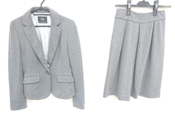 クリアインプレッション スカートスーツ サイズ2 M レディース ダークグレー