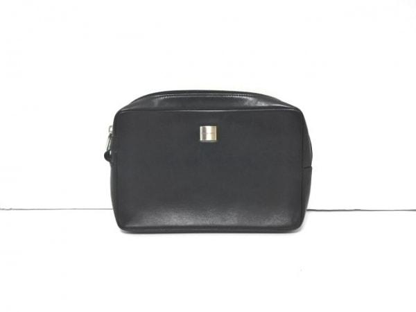 PORSCHE DESIGN(ポルシェデザイン) セカンドバッグ 黒 レザー