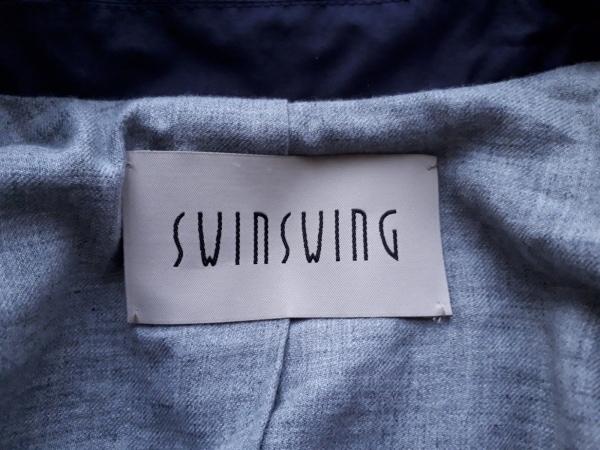 SWINSWING(スウィンスウィング) ジャケット サイズ40 M レディース美品  パープル