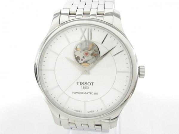 TISSOT(ティソ) 腕時計美品  T063.907.11.038.00 メンズ 裏スケ シルバー