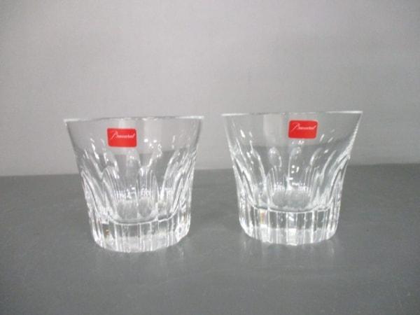 バカラ ペアグラス新品同様  エトナ クリア グラス×2セット クリスタルガラス