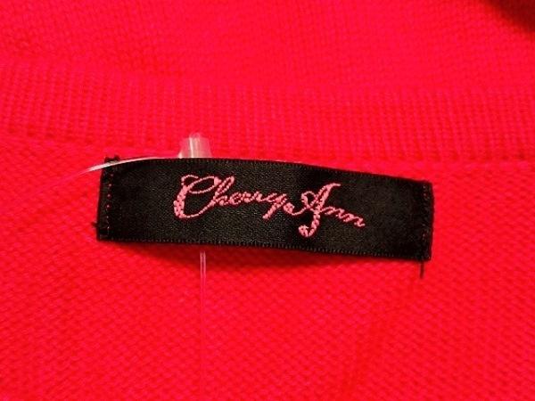 CHERRY ANN(チェリーアン) カーディガン サイズF レディース ピンク ビジュー