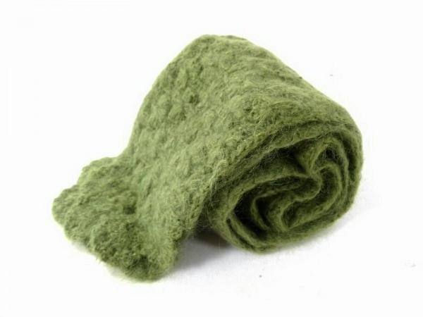 Sybilla(シビラ) マフラー美品  グリーン ウール×ナイロン