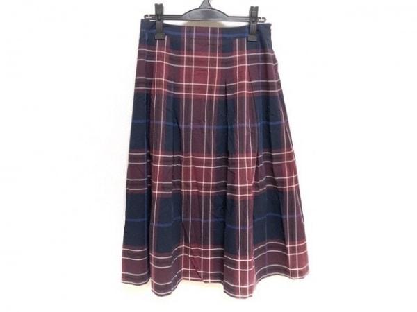 YORKLAND(ヨークランド) ロングスカート サイズ13 L レディース新品同様  チェック柄
