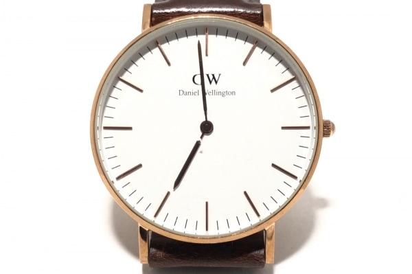 Daniel Wellington(ダニエルウェリントン) 腕時計 B12 ボーイズ 白