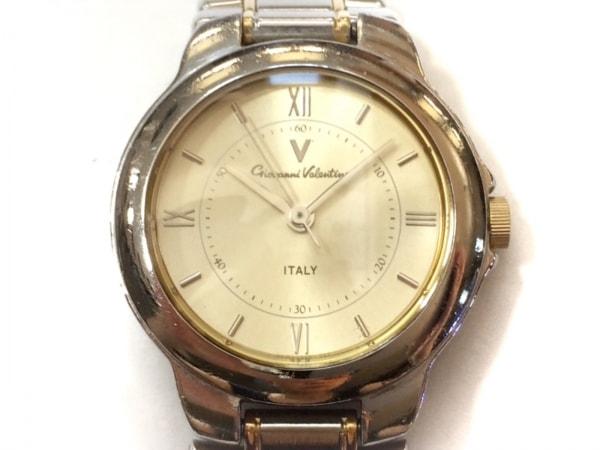 GIANNI VALENTINO(ジャンニバレンチノ) 腕時計 9GM386-00 レディース ゴールド