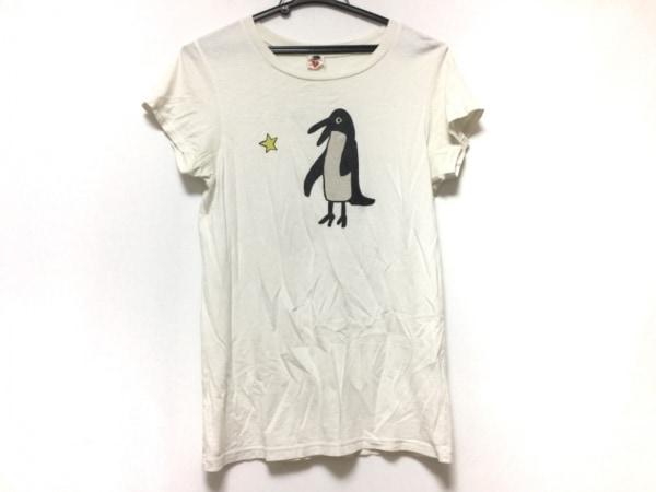 Bohemians(ボヘミアンズ) 半袖Tシャツ サイズM レディース 白×黒×イエロー