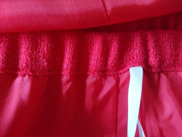 lapine blanche(ラピーヌブランシュ) スカートスーツ サイズ9 M レディース レッド