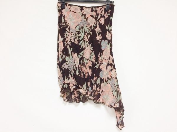 ブルーガール・アンナモリナーリ スカート サイズ40 ( I ) レディース 花柄/ビーズ