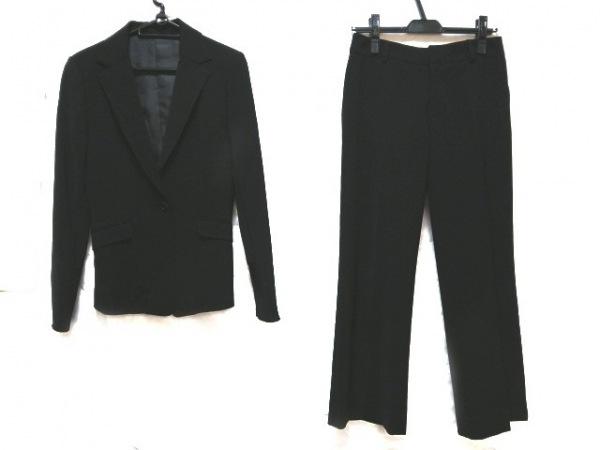 ru(アールユー) レディースパンツスーツ サイズ1 S レディース美品  黒