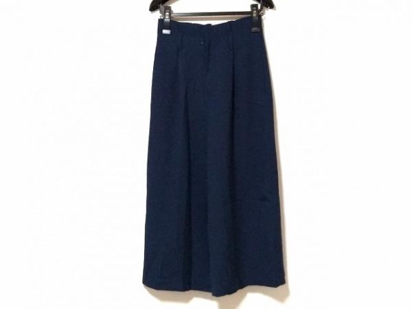 NOLLEY'S(ノーリーズ) パンツ サイズ38 M レディース美品  ネイビー
