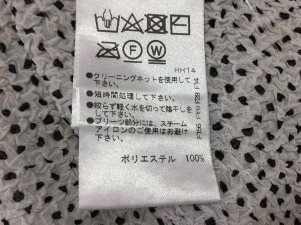 NOKO OHNO(ノコオーノ) 長袖シャツブラウス サイズ40 M レディース アイボリー×黒