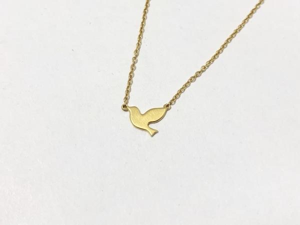 AHKAH(アーカー) ネックレス美品  K18YG 鳥