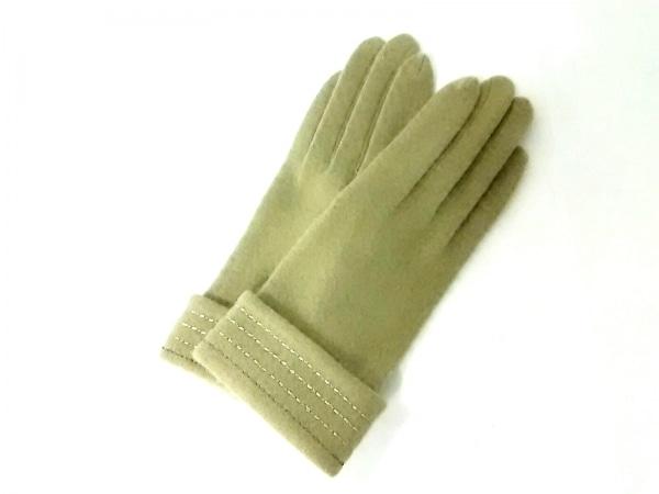 WAKO(ワコー) 手袋 レディース美品  ダークグリーン ウール
