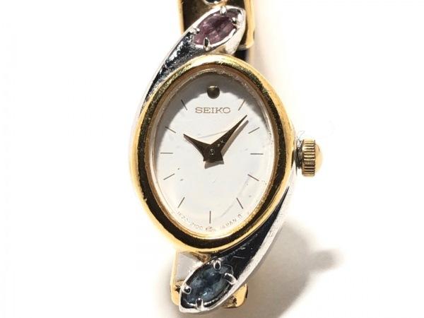 SEIKO(セイコー) 腕時計 1E20-6240 レディース ブレスウォッチ アイボリー