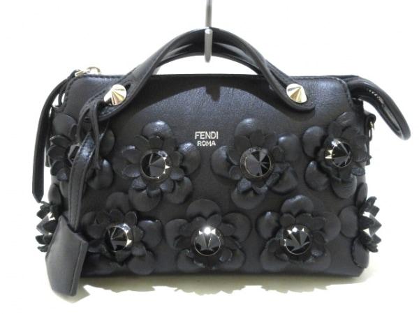 FENDI(フェンディ) ハンドバッグ美品  ミニバイザウェイ 8BL135 黒 レザー