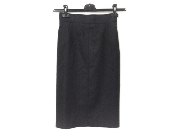 ALAIA(アライア) スカート サイズ38 M レディース ダークグレー
